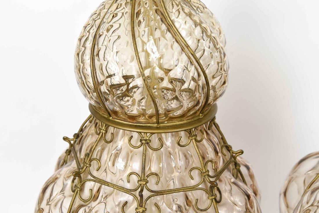 PAIR OF MID-CENTURY MARBORO LAMPS - 4