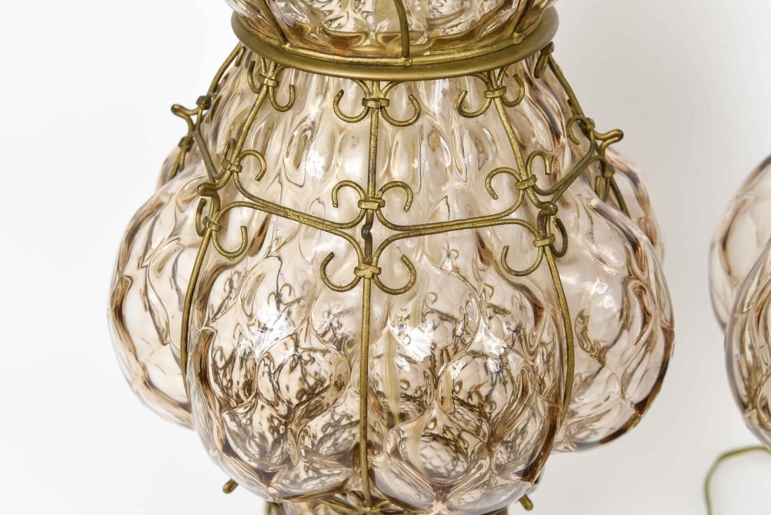 PAIR OF MID-CENTURY MARBORO LAMPS - 5
