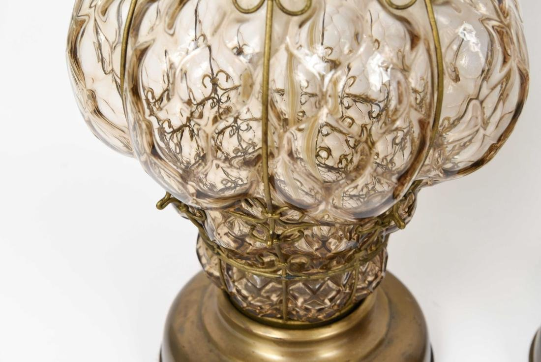 PAIR OF MID-CENTURY MARBORO LAMPS - 6