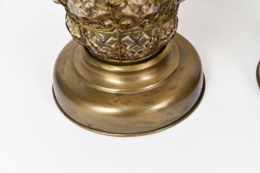 PAIR OF MID-CENTURY MARBORO LAMPS - 7