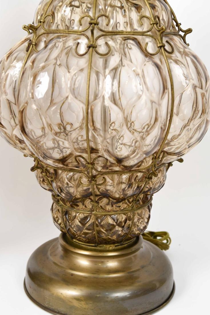 PAIR OF MID-CENTURY MARBORO LAMPS - 8