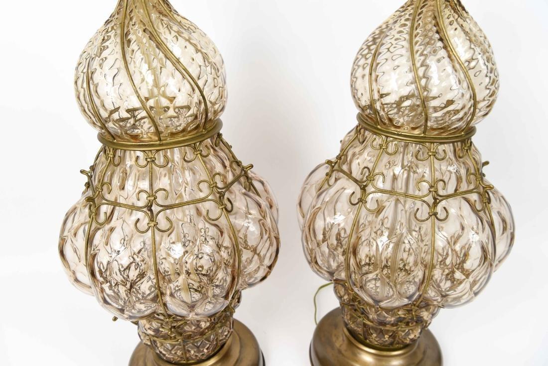PAIR OF MID-CENTURY MARBORO LAMPS - 9