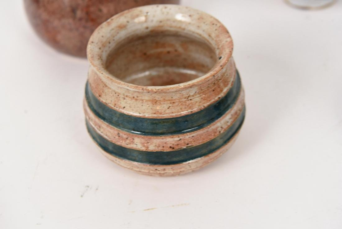 GROUPING OF 1990'S STUDIO POTTERY - 2