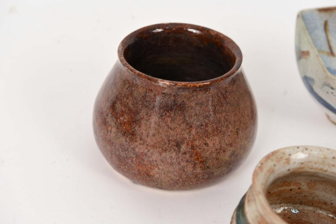 GROUPING OF 1990'S STUDIO POTTERY - 6