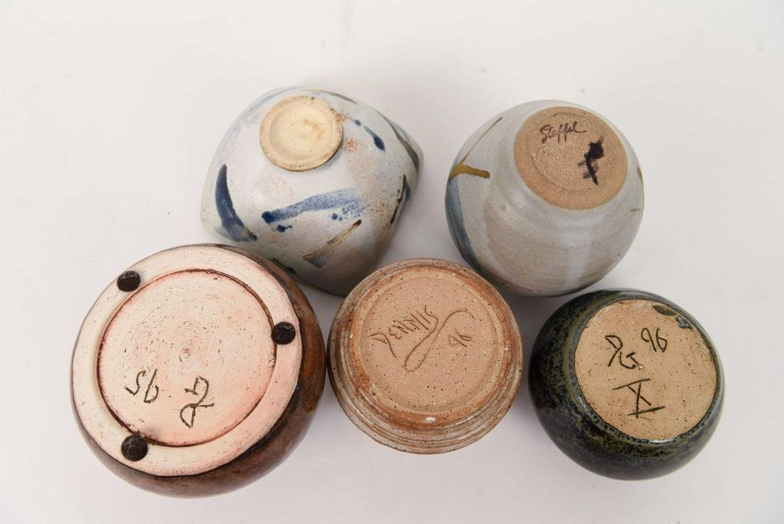 GROUPING OF 1990'S STUDIO POTTERY - 8