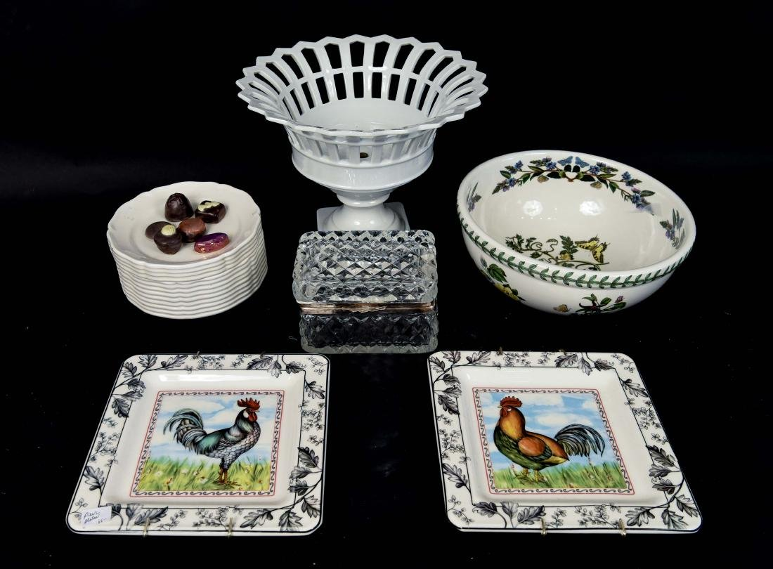 GROUPING OF CERAMICS, ETC. INCL. ITALY