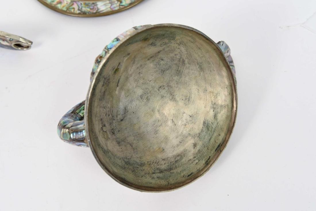 MEXICAN ABALONE BIRD DISH AND BOTTLE OPENER - 6