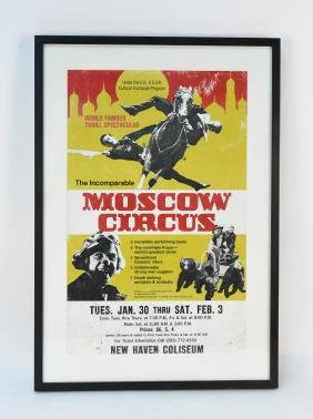 Moscow Circus Poster