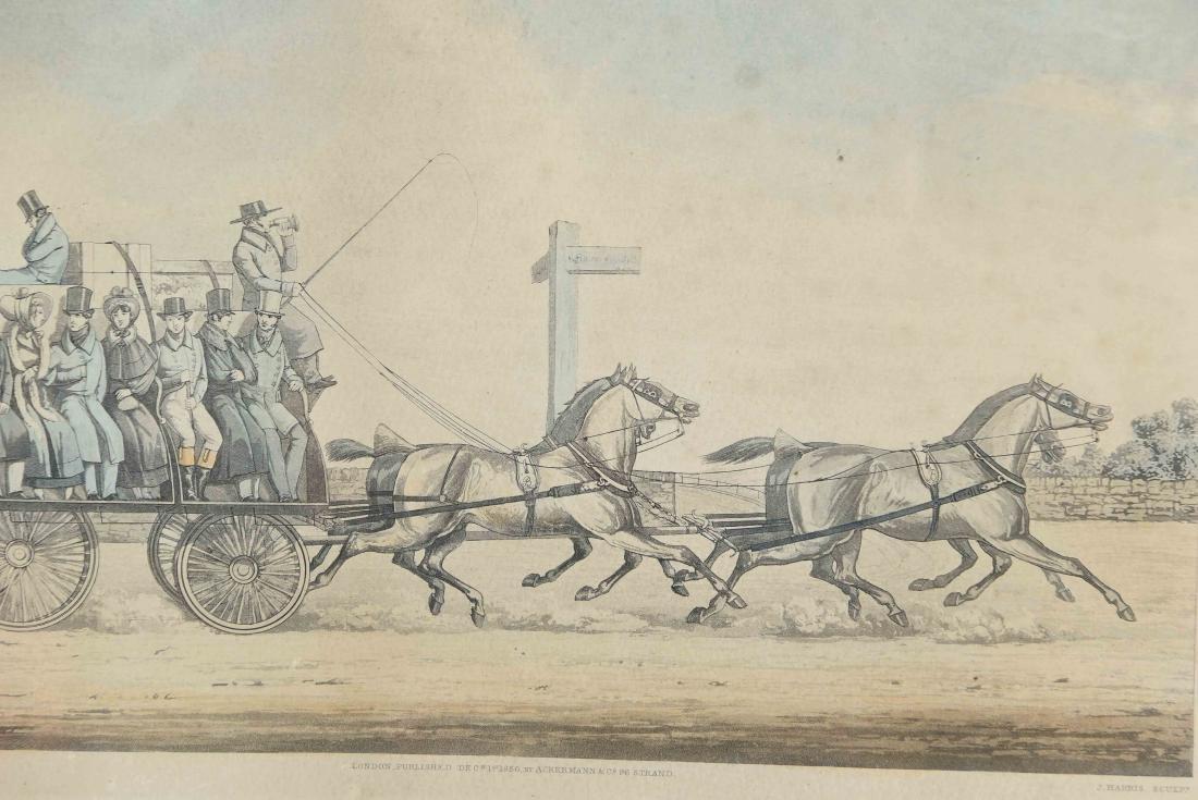 COLOR ENGRAVING PRINT 1856 - 2