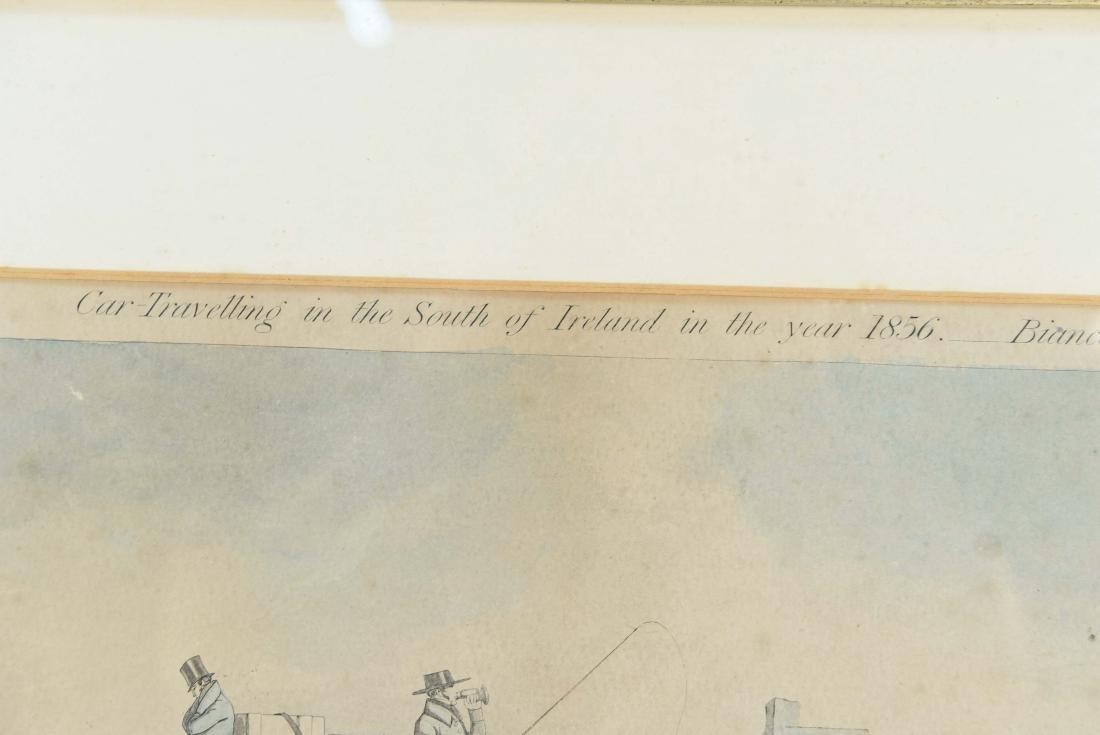 COLOR ENGRAVING PRINT 1856 - 3