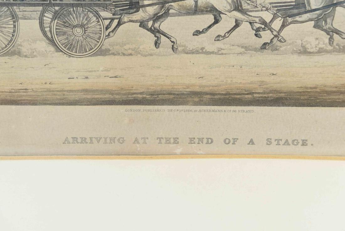 COLOR ENGRAVING PRINT 1856 - 5