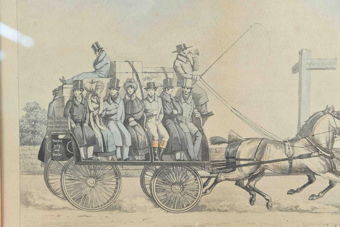 COLOR ENGRAVING PRINT 1856 - 6