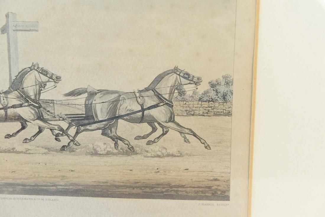 COLOR ENGRAVING PRINT 1856 - 7