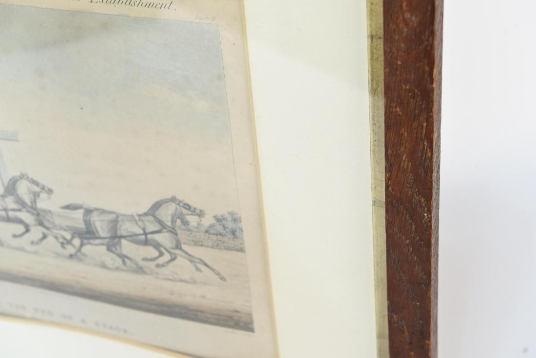 COLOR ENGRAVING PRINT 1856 - 8