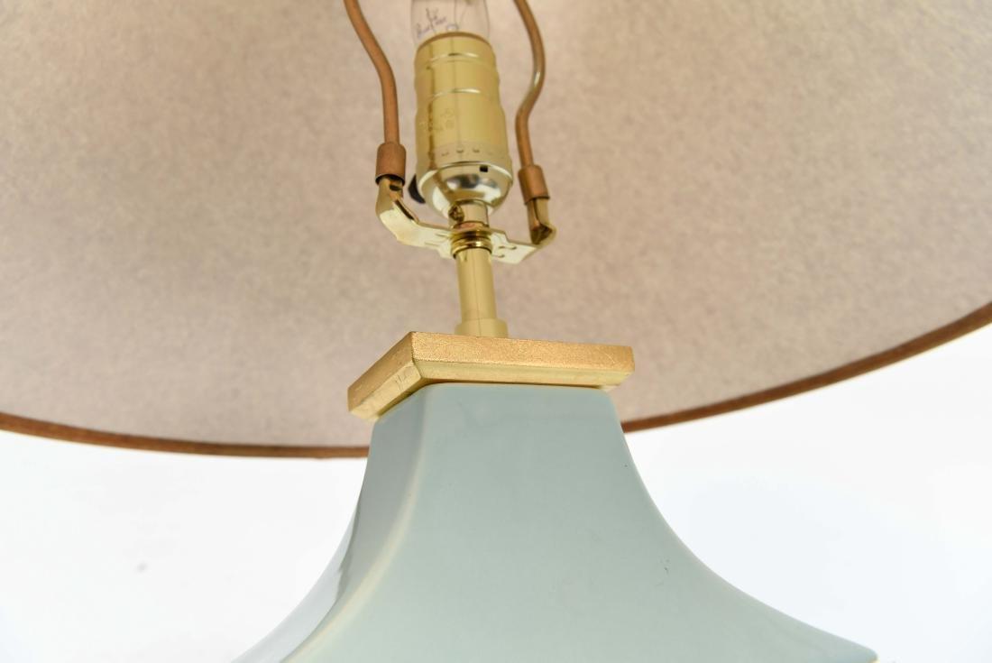 PORCELAIN LAMP - 8