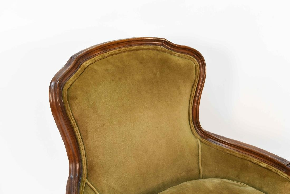 LOUIS XV STYLE BERGERE ARM CHAIR - 2