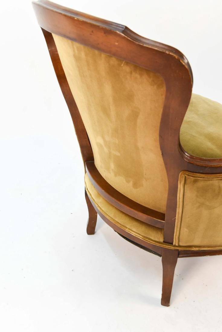 LOUIS XV STYLE BERGERE ARM CHAIR - 7