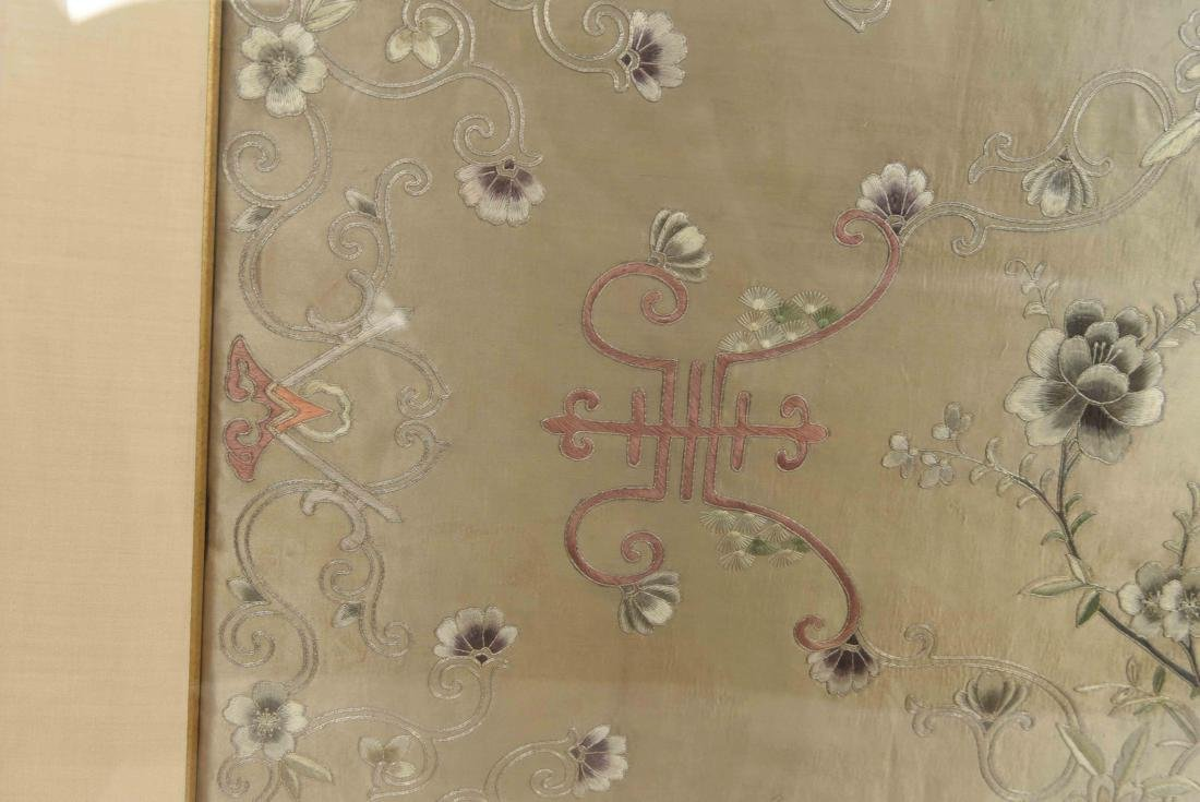 EARLY 20TH C. CHINESE SILK EMBROIDERY - 3