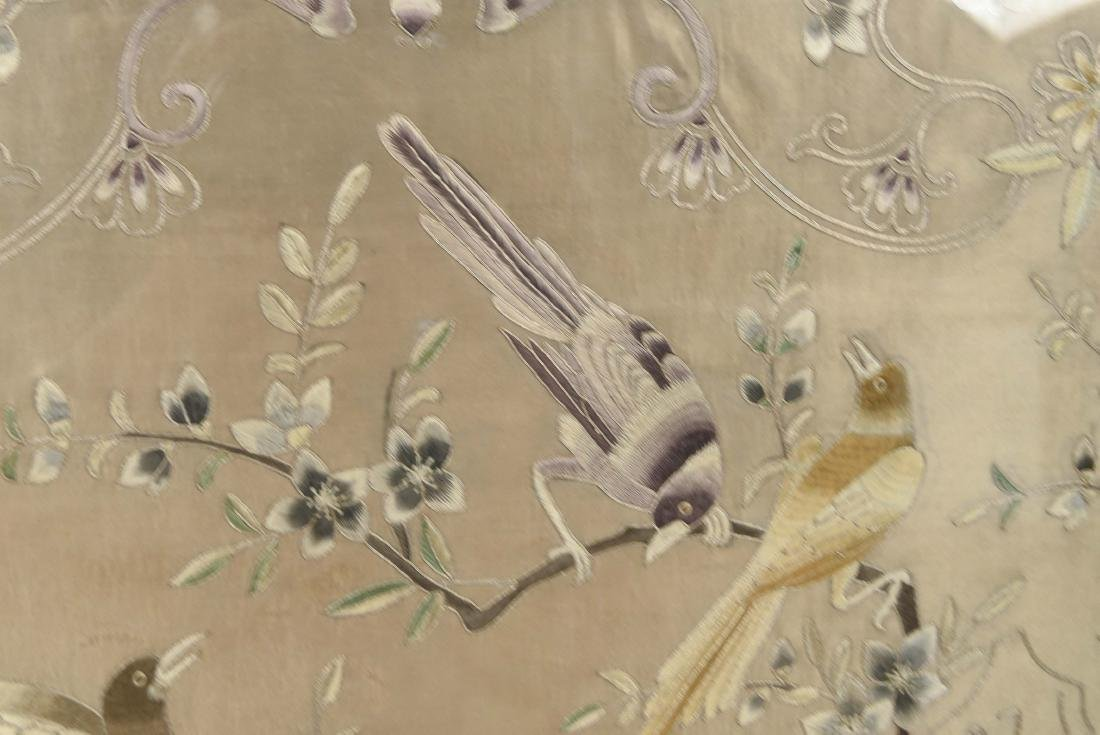 EARLY 20TH C. CHINESE SILK EMBROIDERY - 5