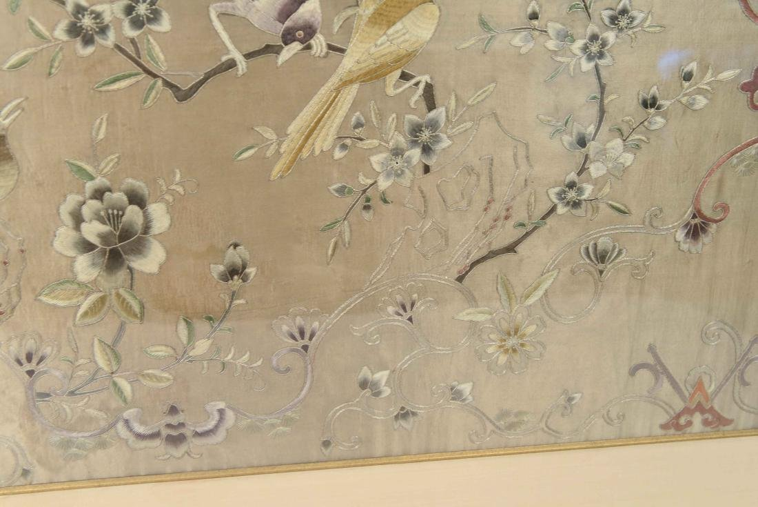 EARLY 20TH C. CHINESE SILK EMBROIDERY - 6