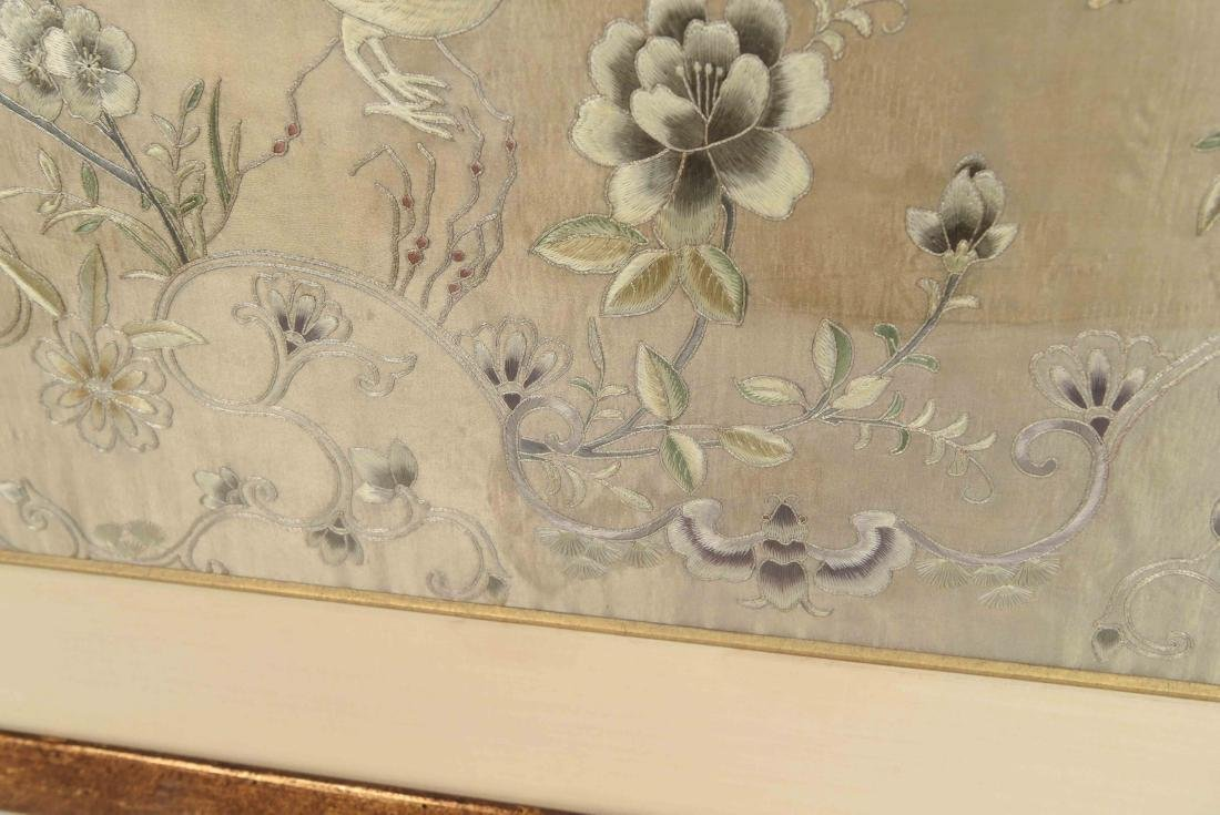 EARLY 20TH C. CHINESE SILK EMBROIDERY - 9