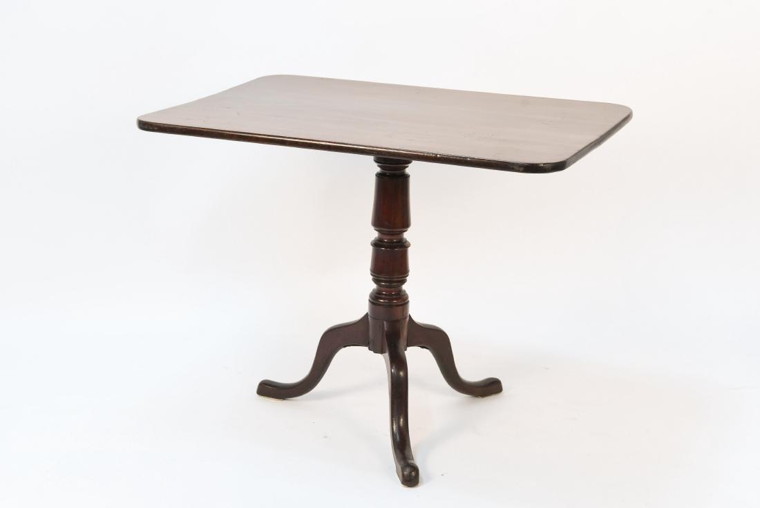 19TH C. ENGLISH FLIP TOP TABLE