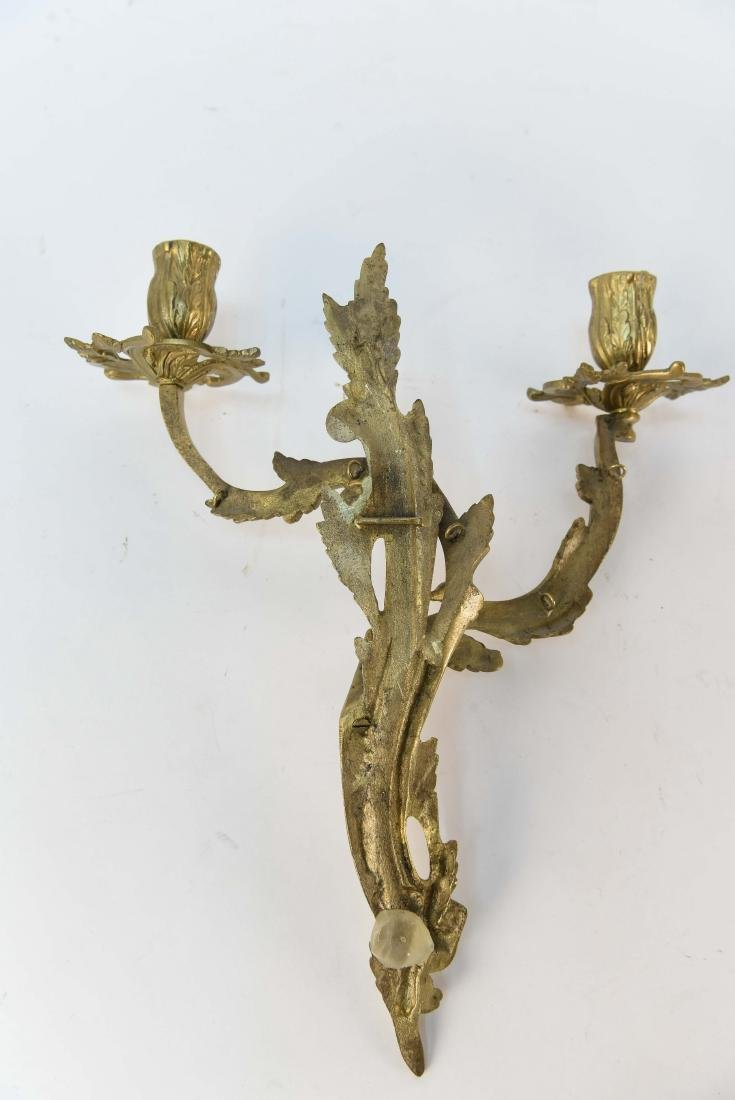 PAIR OF FRENCH STYLE SCONCES - 8