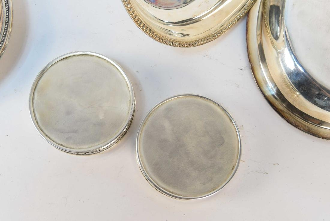 GROUPING OF SILVERPLATE - 10