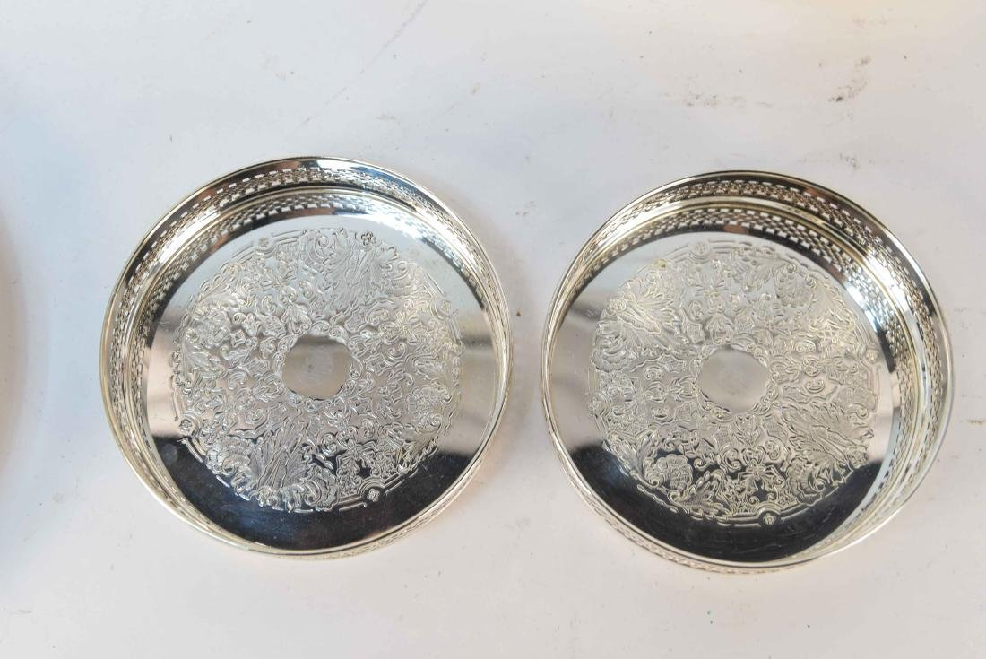 GROUPING OF SILVERPLATE - 3