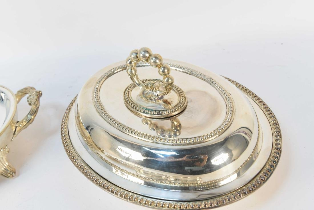 GROUPING OF SILVERPLATE - 4