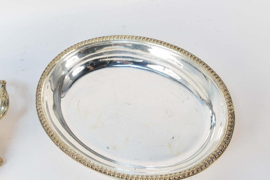 GROUPING OF SILVERPLATE - 6