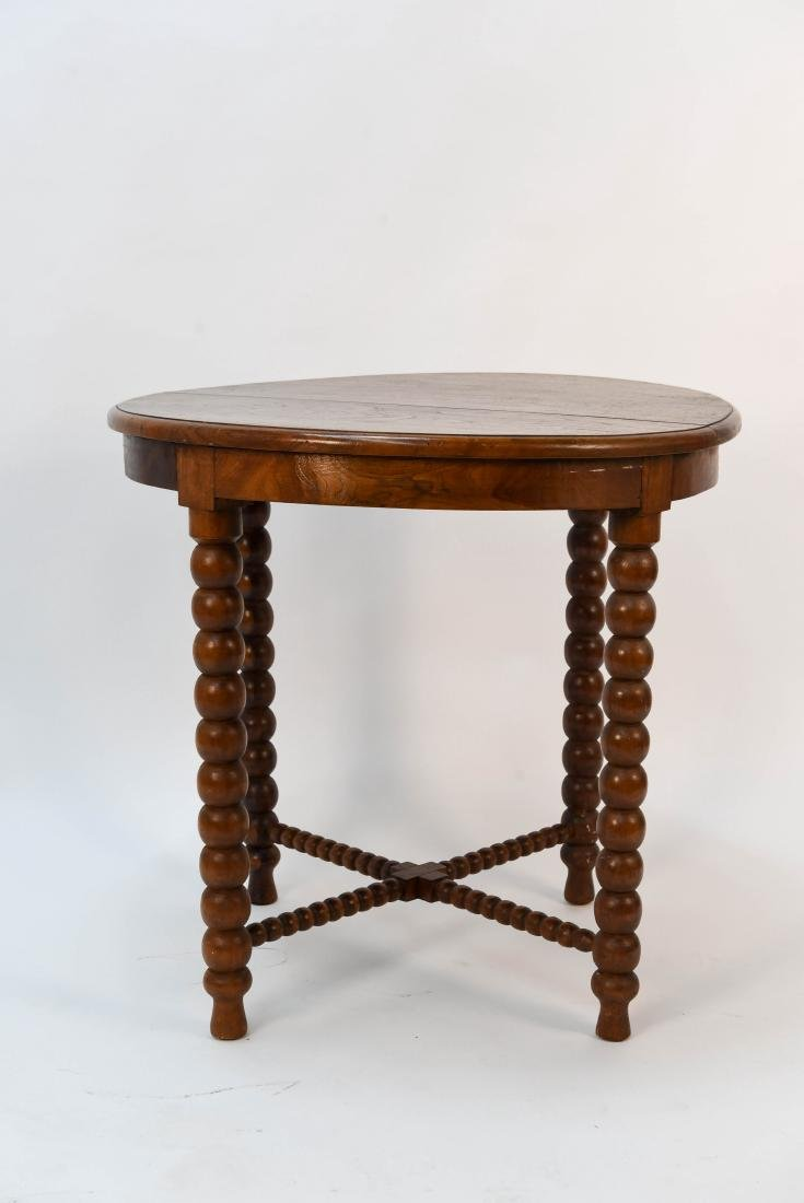 CARVED BALL TABLE