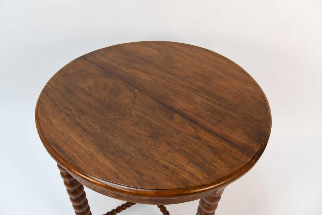 CARVED BALL TABLE - 2
