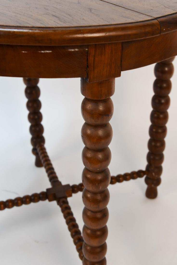 CARVED BALL TABLE - 4