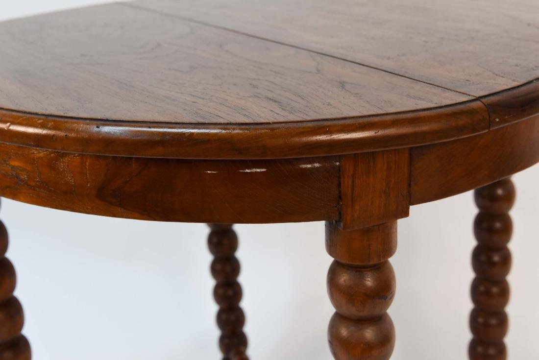 CARVED BALL TABLE - 5
