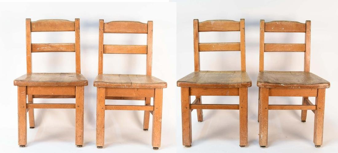(4) CHILDS CHAIRS