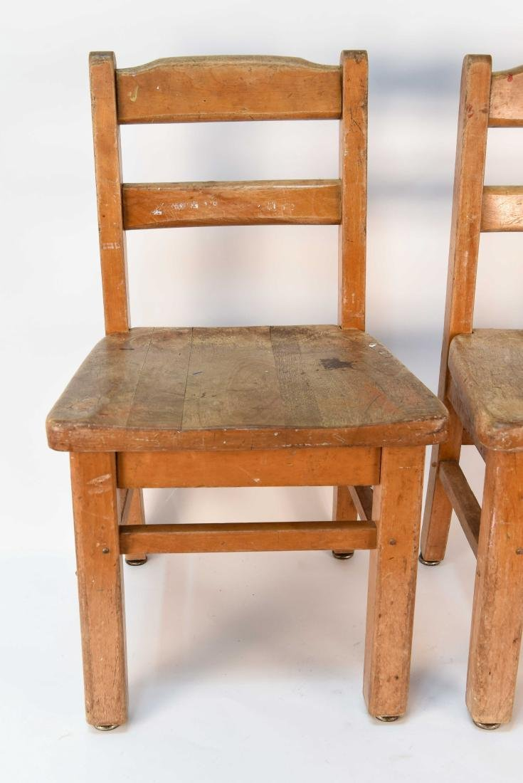 (4) CHILDS CHAIRS - 2