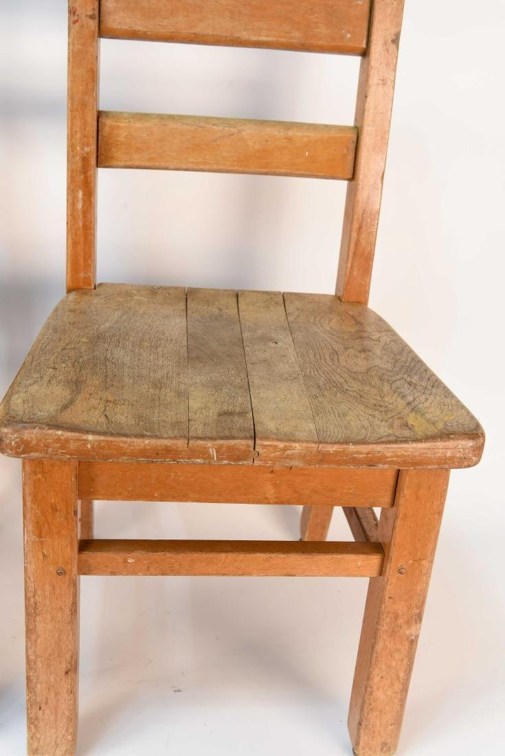 (4) CHILDS CHAIRS - 3