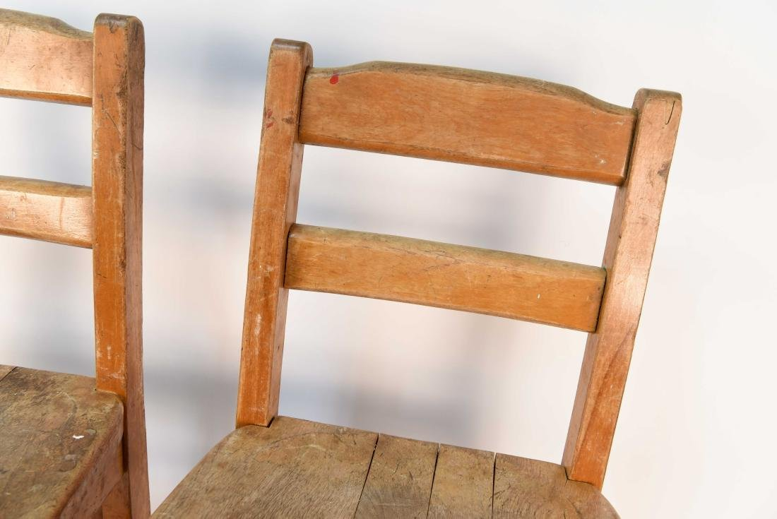 (4) CHILDS CHAIRS - 6