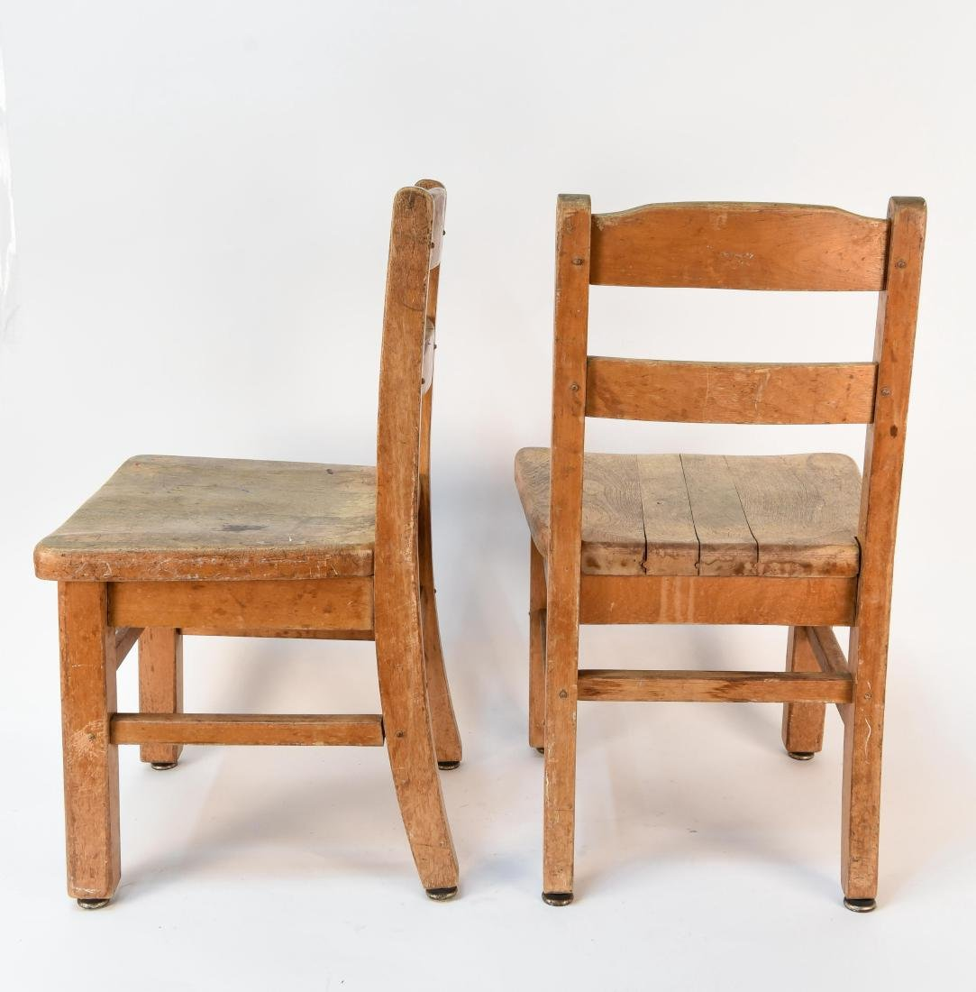 (4) CHILDS CHAIRS - 7