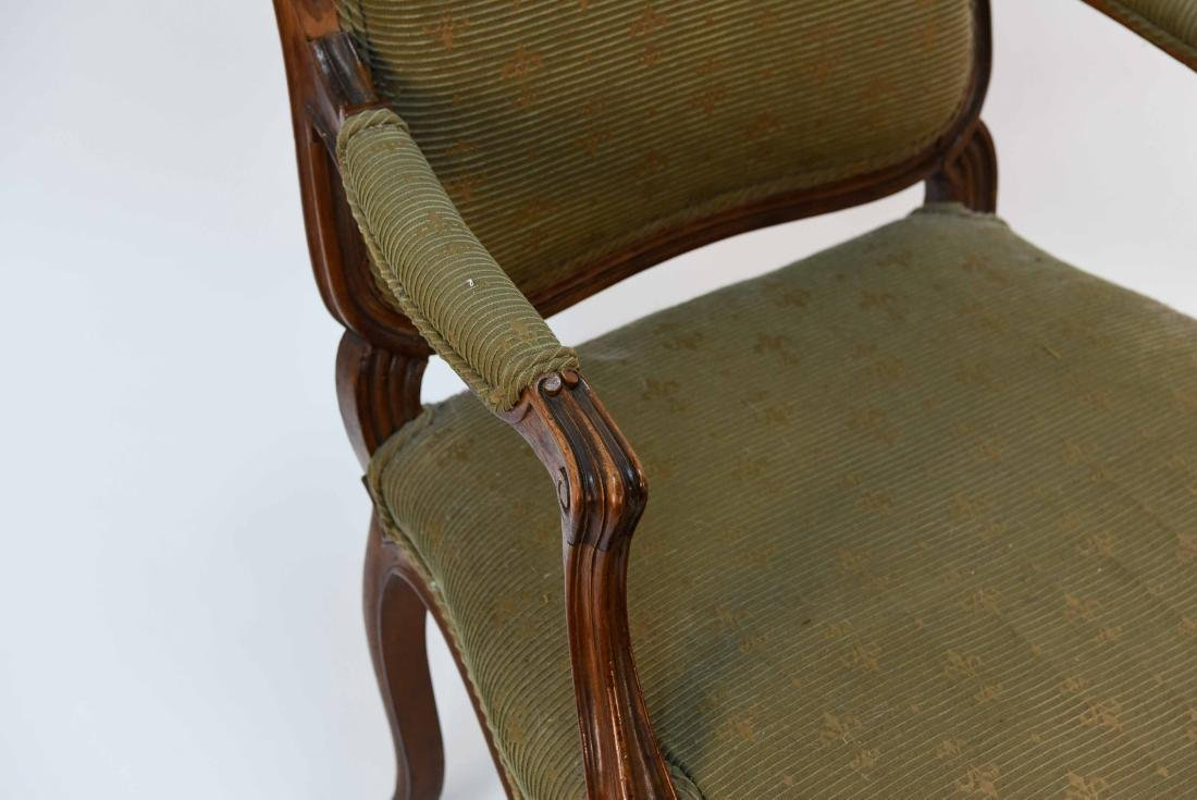 SINGLE FRENCH ARM CHAIR - 3