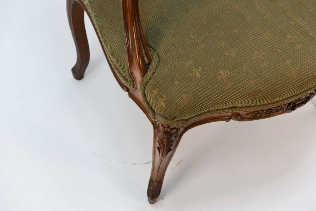 SINGLE FRENCH ARM CHAIR - 4