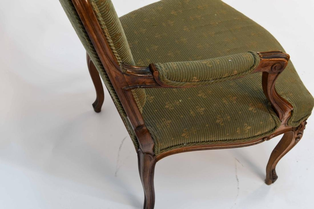 SINGLE FRENCH ARM CHAIR - 7
