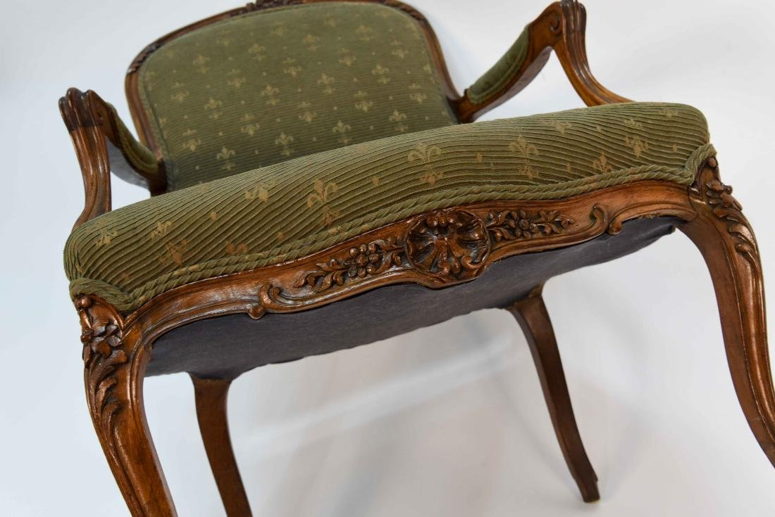 SINGLE FRENCH ARM CHAIR - 9
