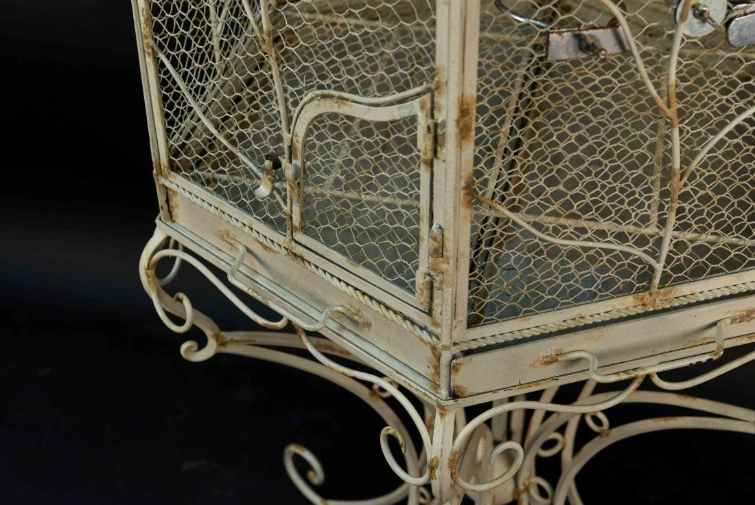 STANDING BIRD CAGE - 5