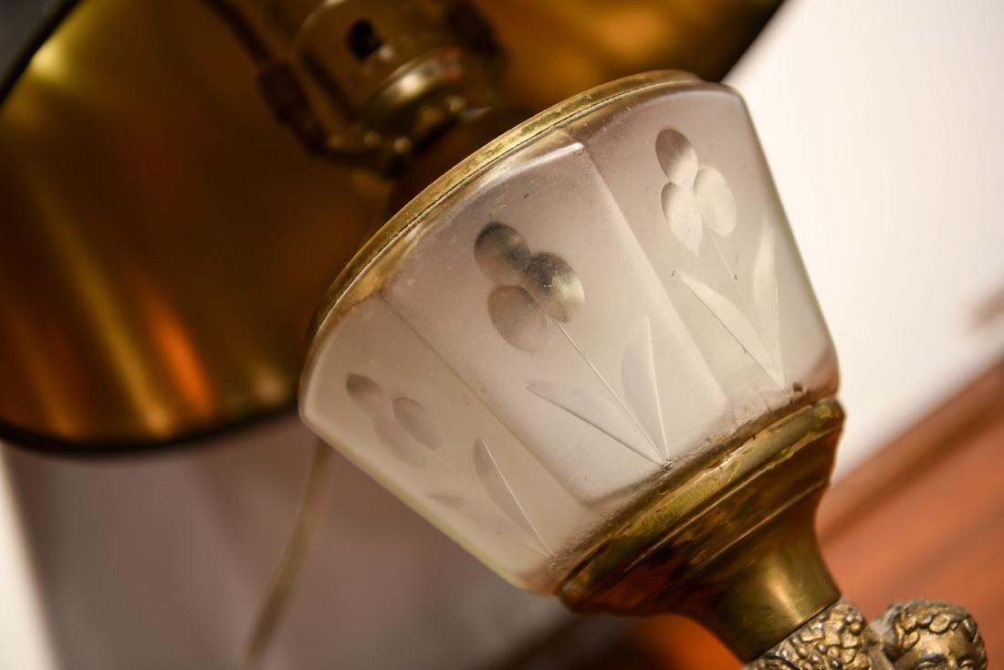 GROUPING INCL. TEA CART, LAMP, & MIRROR - 9