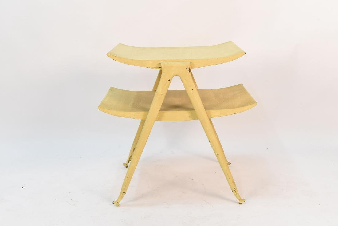 MID CENTURY TIERED OCCASIONAL TABLE