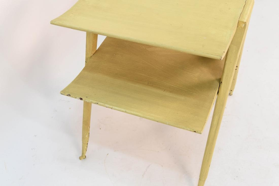 MID CENTURY TIERED OCCASIONAL TABLE - 6