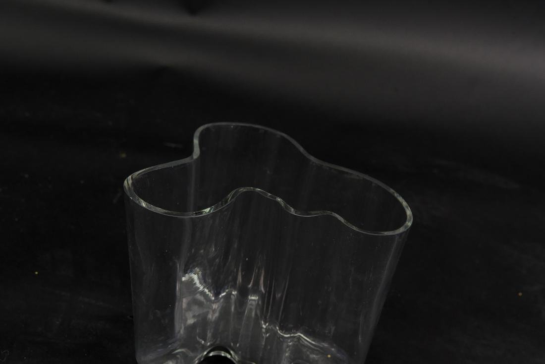ALVAR AALTO GLASS VASE - 2