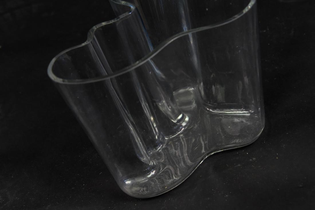ALVAR AALTO GLASS VASE - 3
